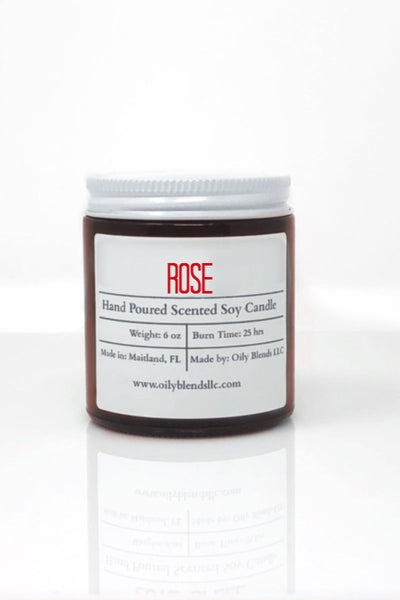 Romance Candles - 6 oz Soy Wax Candles