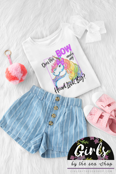 S - Does This Bow? - Unicorn - Kids