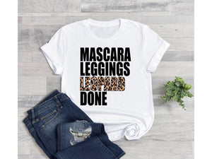 Mascara leggings leopard