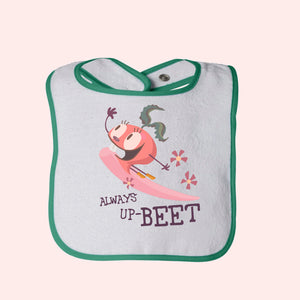 Always Up-Beet Terry Bib