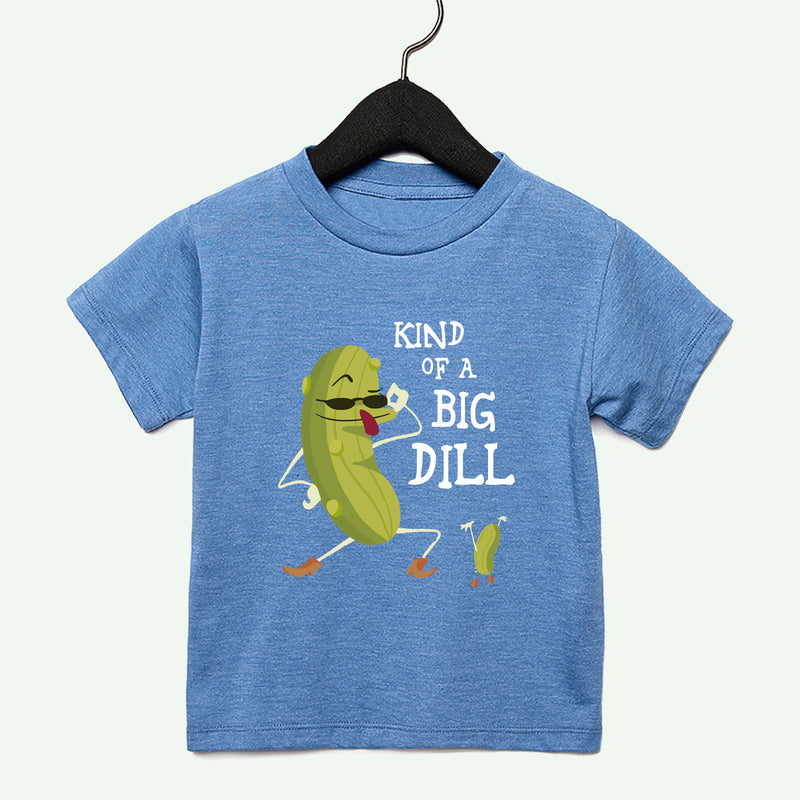 Big Dill Boys Toddler Tee Dark