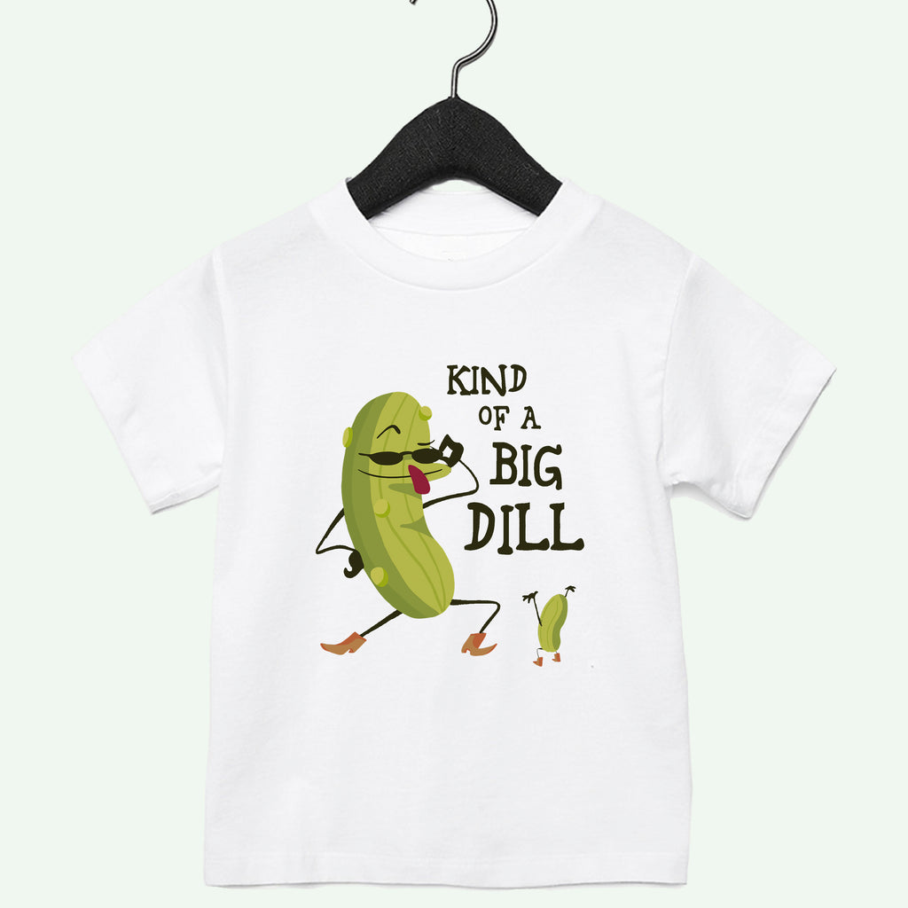 Big Dill Boys Toddler Tee Light