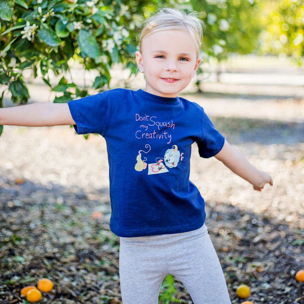 Squash Girls Toddler Tee
