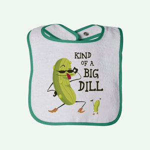 Big Dill Boys Terry Bib