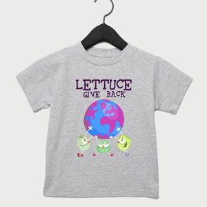 Lettuce Give Back Toddler Tee Light