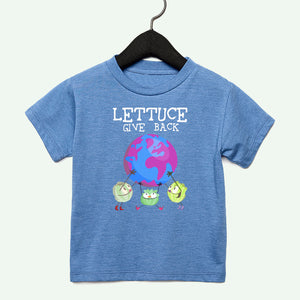 Lettuce Give Back Toddler Tee