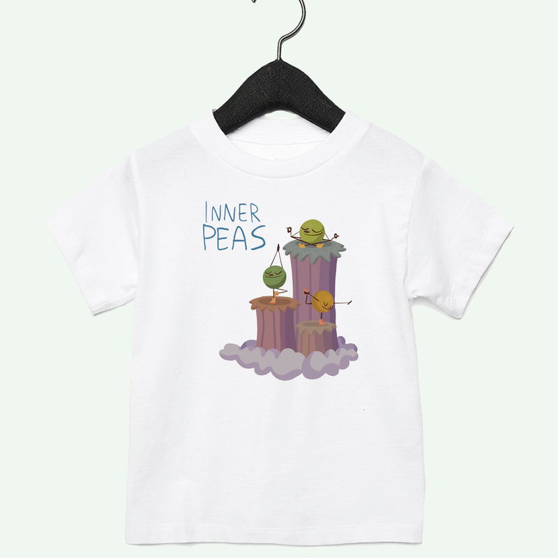 Peas Yoga Boys Toddler Tee Light