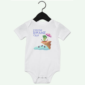 Romaine Calm Short Sleeve Onesie
