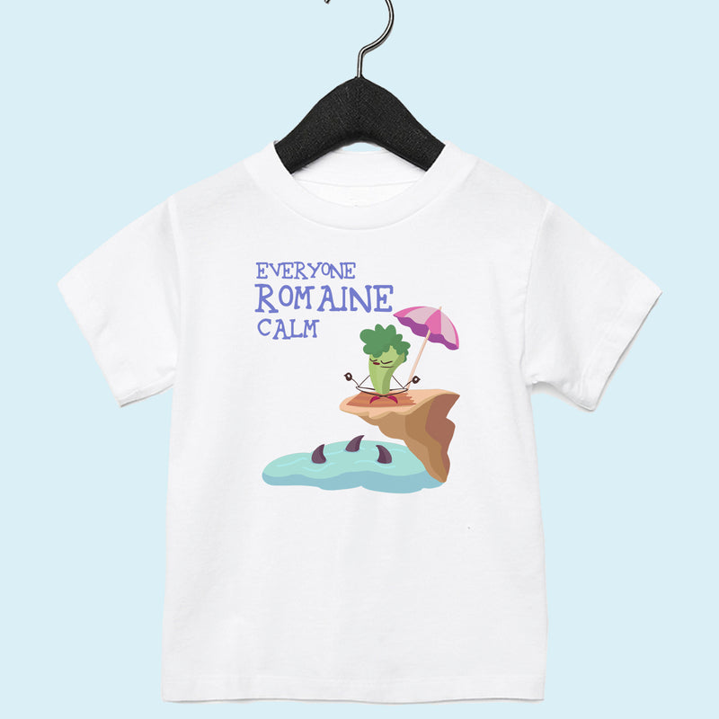 Romaine Calm Toddler Tee