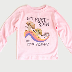 Mushroom Toddler Long Sleeve Tee