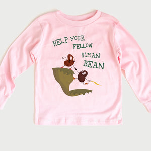 Human Bean Toddler Long Sleeve