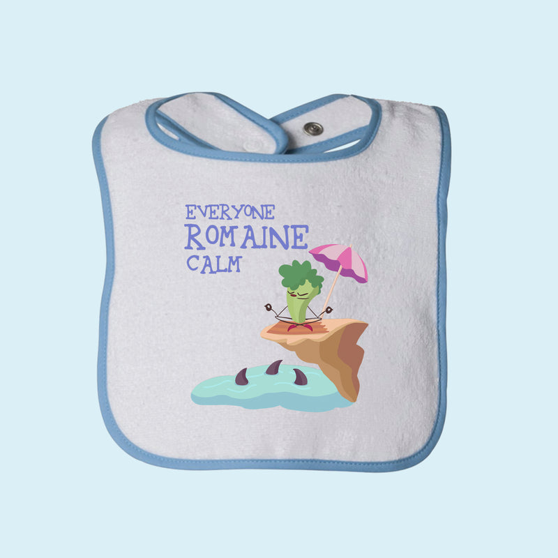 Romaine Calm Terry Bib