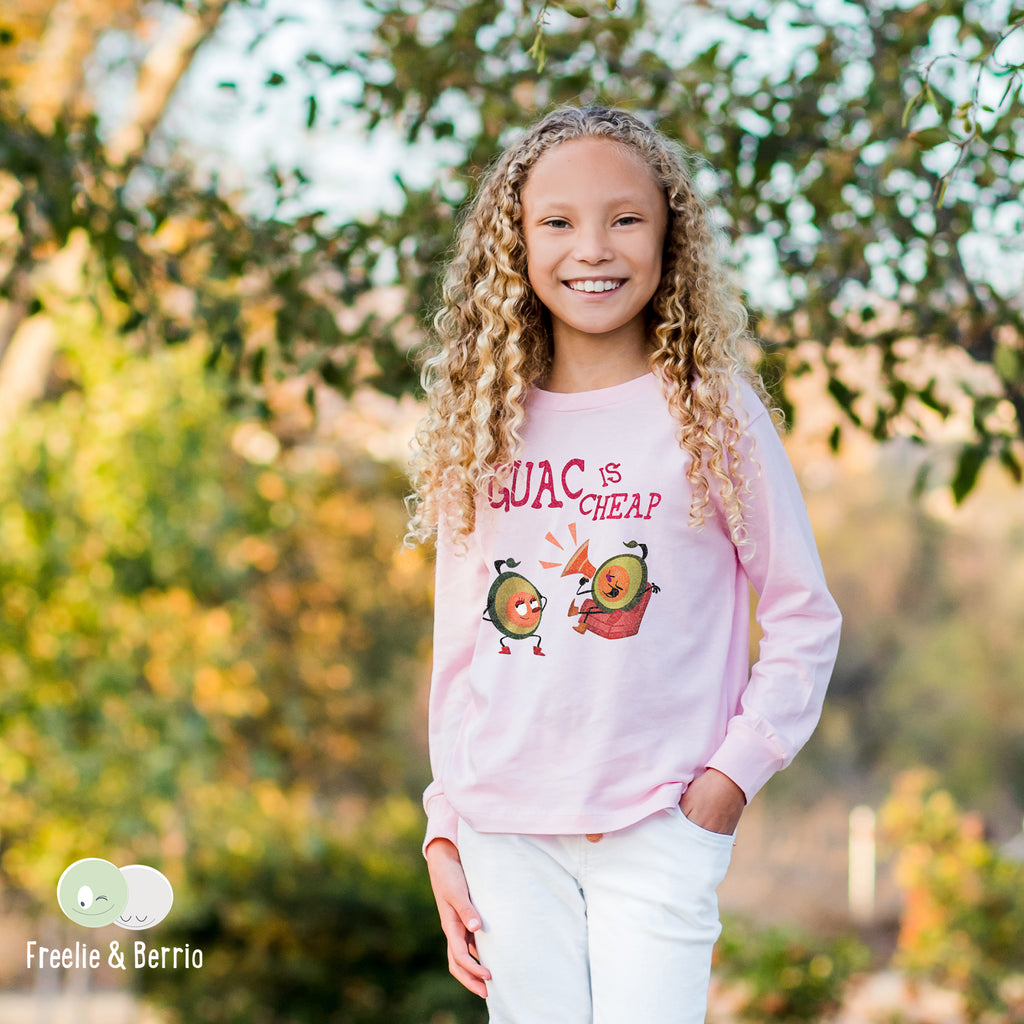 Avocado Toddler Long Sleeve Tee