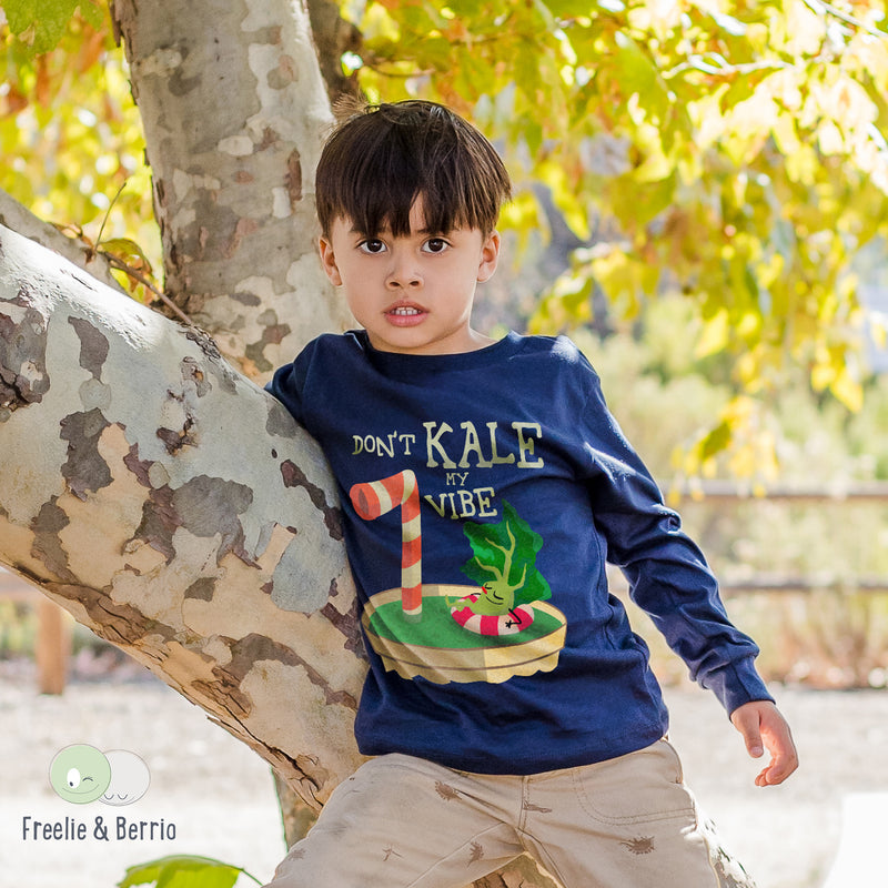 Kale Toddler Long Sleeve Tee