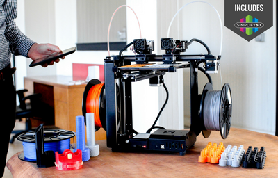 MakerGear M3 Independent Dual 3D Printer