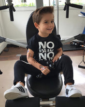 Load image into Gallery viewer, Nesa Fashion Cool Baby Boy Kids Clothes No Pain No Gain Print Tops T-shirt Short Sleeve + Pants Casual 2pcs Outfits Set  Kids Clothing