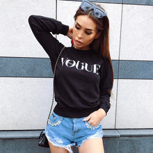 Load image into Gallery viewer, Nesa Fashion Women Tops Long Sleeve shirt Casual T-Shirt Cotton Vogue SEXY