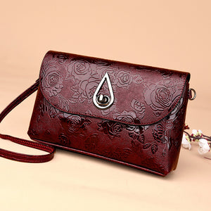 Nesa Fashion High Quality Patent Leather Women Bag Ladies Cross Body Messenger Shoulder Bags Vintage Handbags