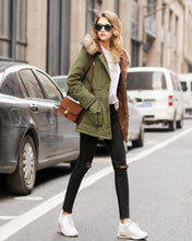 Load image into Gallery viewer, Nesa Fashion New Women Winter Coat Thick Cotton Winter Jacket