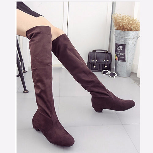 Nesa Fashion Women's High Boots  Fashion Women Over The Knee Boots  New Autumn Winter Boots