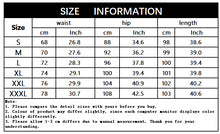 Load image into Gallery viewer, Nesa Fashion Spring Summer Ripped Jeans  Casual Slim Cotton Pencil Pants Style Denim Waist