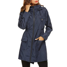 Load image into Gallery viewer, Nesa Fashion  Autumn Winter Women Waterproof jacket Packable Hooded Jacket Outdoor Hiking Clothes Lightweight Raincoat For Women