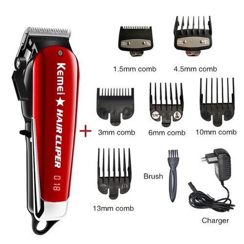 Professional Barber Hair Clipper Powerful Machine Hair Trimmer For Men Electric Cutter 9W Hair Cutting Machine 2611