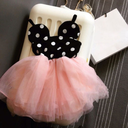 Nesa Fashion New Baby Girl Dress Fashion Cute Minnie Mouse Dresses Kids Clothes Toddler Tutu Dress