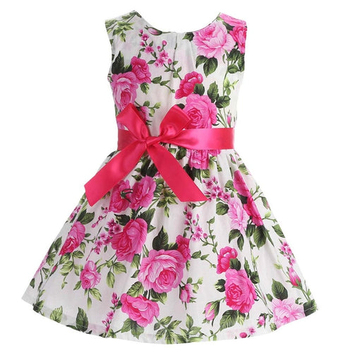Nesa Fashion Floral Children Baby Dresses Girl Wedding Party Princess  Birthday Girls Dress