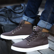 Load image into Gallery viewer, 1pair Spring Autumn Shoes Warm Men Shoes Tenis Masculino Male Men's Comfortable Casual Shoes Canvas Botas PA871485