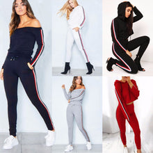 Load image into Gallery viewer, Two Piece Set Sportswear Tracksuits Casual For Women Suit 2018 Autumn Winter Top and Pants Long Sleeve Suit Female S-3XL
