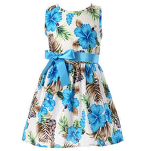 Load image into Gallery viewer, Nesa Fashion Floral Children Baby Dresses Girl Wedding Party Princess  Birthday Girls Dress
