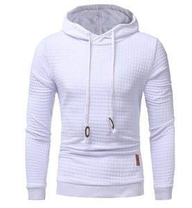 Hoodies Men 2018 Brand Male Long Sleeve Solid Color Hooded Sweatshirt Mens Hoodie Tracksuit Sweat Coat Casual Sportswear S-4XL