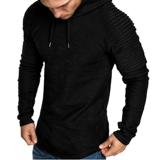 Nesa Fashion New Mens Hoodies Brand Fashion Men Solid Color Sweatshirt Male Hoody Hip Hop Autumn Winter Hoodie Mens Pullover XXXL