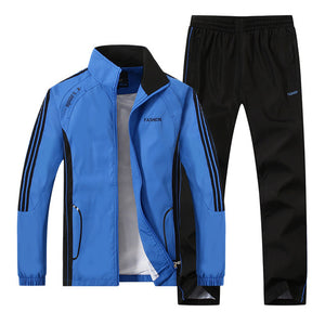 Nesa Fashion Tracksuit Men Two Piece Clothing Sets Casual Track Suit Sportswear Sweatsuits