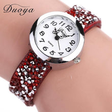 Load image into Gallery viewer, Women Fashion Crystal Rhinestone Bracelet Watch Ladies Quartz Luxury Vintage Women Watch Gift