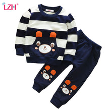 Load image into Gallery viewer, Children Clothing 2018 Autumn Winter Boys Clothes T-shirt+Pant 2pcs Outfits Kids Clothes Toddler Boys Clothing Sets 1 2 3 4 Year