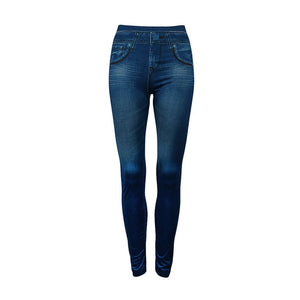 Lady Denim High Waist Jeans Seamless Sexy Women Jeans Skinny Stretch Slim Pencil Pants Leggings Fashion Skinny Pants