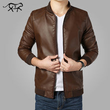 Load image into Gallery viewer, Nesa Fashion New Arrival Leather Jackets Men's jacket male Outwear Men's Coats Jacket