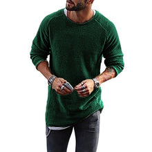 Load image into Gallery viewer, VERTVIE 2018 Autumn Knitting Sweater Men Fashion Long Sleeve Sweaters Casual Classic Solid Christmas Pullover Male Streetwear