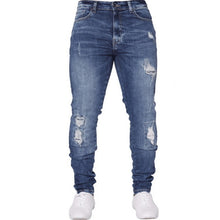Load image into Gallery viewer, NIBESSER mens brand Skinny jeans Pant Casual Trousers 2018 denim black Blue jeans homm stretch pencil Pants Plus Size streetwear