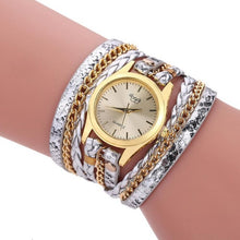 Load image into Gallery viewer, Sloggi luxury relogio feminino Dress women Bracelet Watch woman Casual Relojes Mujer punk style Ladies Quartz Wrist Watch Women