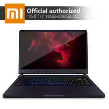 Load image into Gallery viewer, Xiaomi Gaming Notebook 15.6'' Intel Core i7 16GB DDR4 256GBSSD+1TB Laptop GTX1060 6GB GDDR5 Windows10 Backlit Keyboard Computer