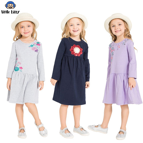 Nesa Fashion Girls Dress Long Sleeve Brand Princess Dress Girls Clothes Animal Vestidos Children Costumes For Kids Dresses