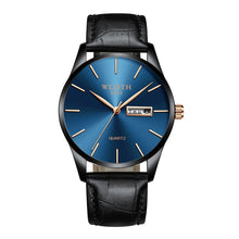 Load image into Gallery viewer, Nesa Fashion Men's Watches Top Brand Luxury Ultra-thin Male Clock Steel Display Week Date Fashion Quartz-Watch Business Men Wrist Watches