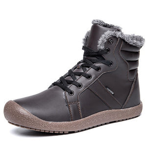 Nesa Fashion Men Winter Boots Warm Comfortable Working Safety , Winter Men Shoes High Quality Autumn Boots Men Plus Size 38-48