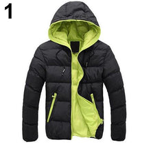 Load image into Gallery viewer, Nesa Fashion  New Men Fashion Autumn Winter Outdoor Sport Casual Hoodie Coat Outwear Overcoat