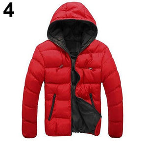 Nesa Fashion  New Men Fashion Autumn Winter Outdoor Sport Casual Hoodie Coat Outwear Overcoat