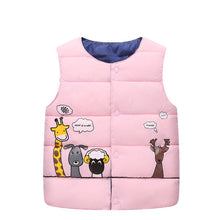 Load image into Gallery viewer, Nesa Fashion Girls Jackets Thickening Warm Outerwear Children Clothing Cartoon Cinderella Hooded Jacket Coat Winter