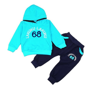 Nesa Fashion Children Tracksuit Kids Clothing Sets Baby Boys Girls Fashion Sports Suits Hoodies Sweatshirts+Pants Brand Jacket Boy Clothes